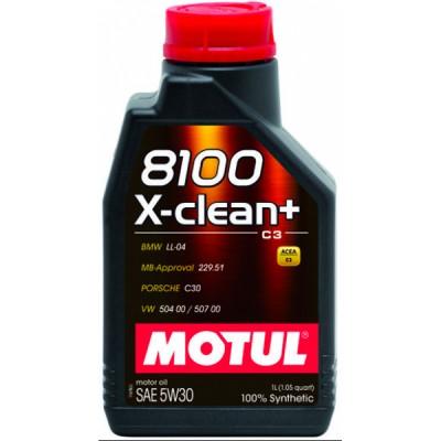Motul 8100 X-Clean+ C3 5W-30 1lt