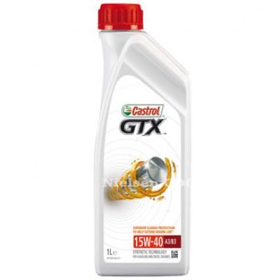 Castrol GTX High Mileage 15W-40 A3/B3 1L